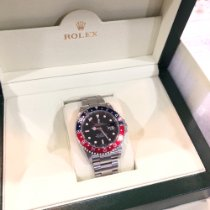 Rolex GMT-Master II Steel 40mm Black No numerals United States of America, New York, white plains