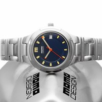 Momo Design Steel 37mm Quartz MD-001-CM-BL new