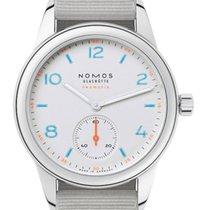 NOMOS Club Neomatik Staal 37mm Zilver