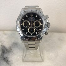Rolex Daytona Steel 40mm White No numerals