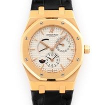 Audemars Piguet Royal Oak Dual Time Red gold 39mm Silver United States of America, California, Beverly Hills