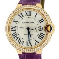 Cartier Ballon Bleu 42mm Rose gold Silver