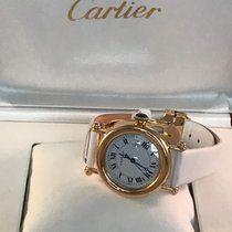 Cartier Yellow gold 32mm Quartz 14200 pre-owned