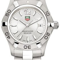 TAG Heuer Aquaracer Lady Staal 27mm Zilver Arabisch