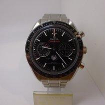 Omega Speedmaster Professional Moonwatch Moonphase Steel 44mm Black No numerals