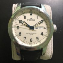 Fortis pre-owned Automatic 42mm White Sapphire Glass 20 ATM