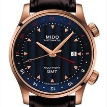 美度 Multifort GMT 钢 42mm 蓝色