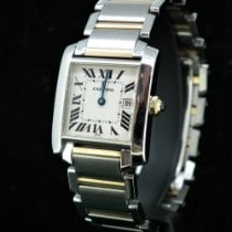 Cartier 2485 Gold/Steel Tank Française pre-owned