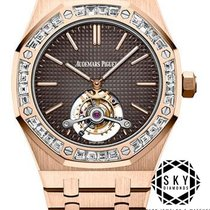 Audemars Piguet Royal Oak Tourbillon Rose gold Brown United States of America, New York, NEW YORK