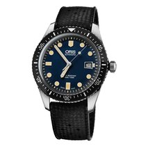 Oris Steel Automatic Blue 42mm new Divers Sixty Five