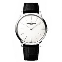 Vacheron Constantin White gold 40mm Manual winding 81180/000G-9117 new