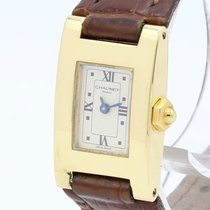 Chaumet Khesis Yellow gold 18mm White Roman numerals
