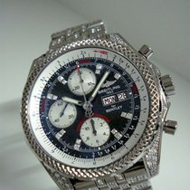 Breitling Bentley GT tweedehands 44mm Grijs Witgoud