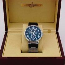 Ulysse Nardin Marine Chronometer 43mm Сталь 43mm Чёрный Римские Россия, Moscow