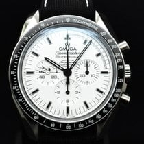 Omega Speedmaster Professional Moonwatch Stål 42mm Hvit Ingen tall