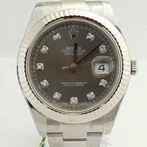 Rolex Datejust II Acero 41mm Gris