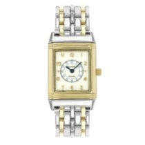 Jaeger-LeCoultre Reverso 260.5.08 Steel and 18KGold Ladies...