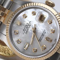 Rolex 16013 Gold/Steel Datejust 36mm pre-owned United States of America, New York, New York
