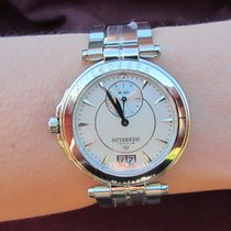 Michel Herbelin Newport Yacht Club Steel 33,5mm Mother of pearl No numerals