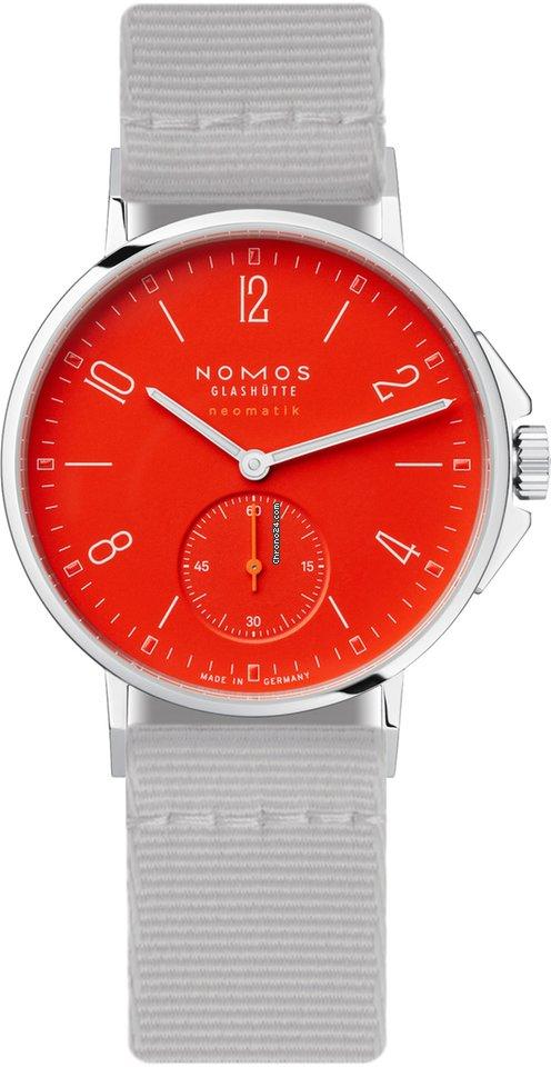 NOMOS Ahoi Neomatik 563 Signalrot 2021 new