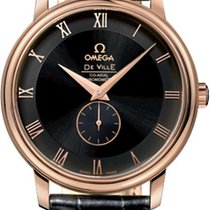 Omega De Ville Co-Axial Small Seconds Black Dial Mens Watch
