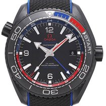 Omega Seamaster Planet Ocean GMT 600M Deep Black ETNZ