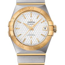 Omega Constellation Men Two-Tone SS & YG 123.20.38.21.02.009