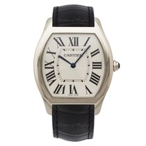 Cartier Tortue White gold 44.95mm Silver United Kingdom, London