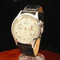 ポレオット (Poljot) Strela Edelstahl Handaufzug Chronograph...
