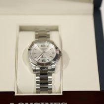 Longines 29,5mm Quartz new Conquest Silver