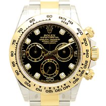 Rolex Cosmograph Daytona Gold And Steel Black Automatic 116503GBK