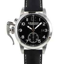 Graham Steel 43mm Automatic 2CXAS.B01A.L17S new