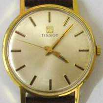 Tissot Gold Plated Manual Wind Wrist Watch