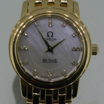 Omega Yellow gold 22mm Quartz 41707600 pre-owned Australia, Sydney