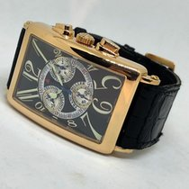 Franck Muller 30mm Quartz pre-owned Long Island Black