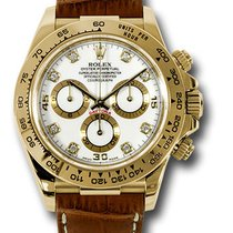 Rolex Daytona pre-owned 40mm Yellow gold