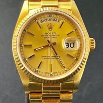 Rolex Day-Date 36 Gelbgold 36mm Keine Ziffern Österreich, wien
