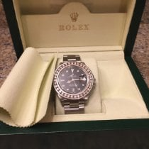 Rolex Watch pre-owned 2010 Steel 40mm No numerals Automatic Watch with original box and original papers