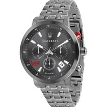Maserati Steel 44mm Quartz R8873134001 new