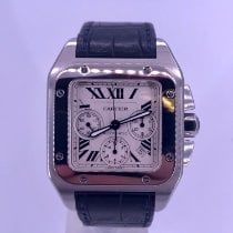Cartier Santos 100 Steel 41mm White Roman numerals United States of America, California, Beverly Hills
