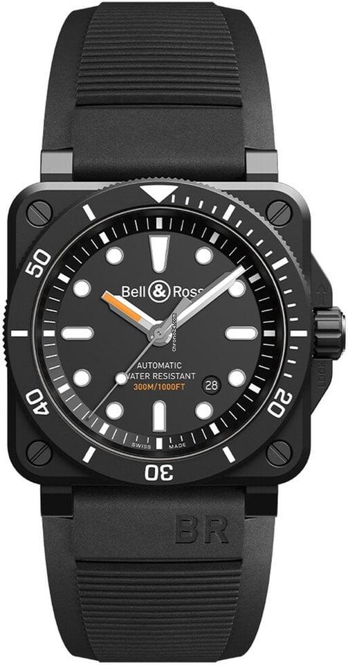 Bell & Ross BR 03-92 Ceramic BR0392-D-BL-CE/SRB 2021 новые