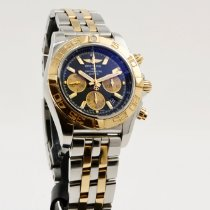 Breitling Chronomat 44 Gold/Steel 44mm Blue No numerals