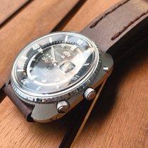오리엔트 스틸 45mm 자동 0349-13470 중고시계