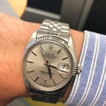 Rolex Argent Remontage automatique Argent 36mm occasion Datejust