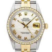 Rolex Datejust Acier 36mm Nacre Romain