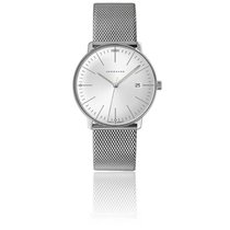 Junghans Steel 38mm Quartz max bill Quartz new