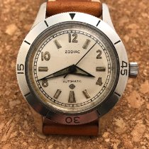 Zodiac Steel 35mm Automatic Sea Wolf pre-owned