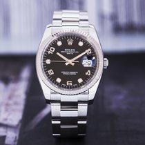 Rolex Oyster Perpetual Date 劳力士 115234 Çok iyi Altın/Çelik 34mm Otomatik