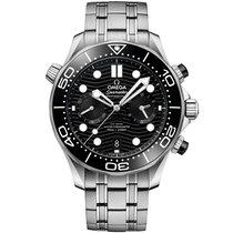 歐米茄 Seamaster Diver 300 M 新的 自動發條 附正版包裝盒和原版文件的手錶 210.30.44.51.01.001