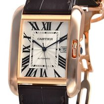 Cartier W5310004 Rose gold Tank Anglaise 47mm pre-owned United States of America, New York, Greenvale